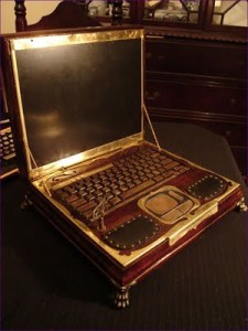 The Clockwork, Old-Style Laptop